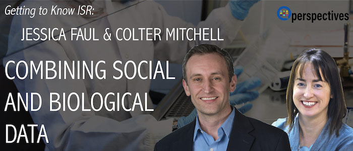 Faul and Mitchell discuss Combining Social and Biological Data