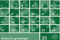 An advent calendar