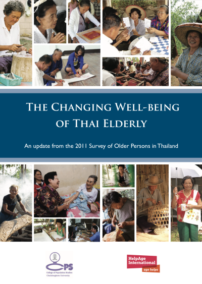 The Changing Well-being of Thai Elderly: An Update from the 2011 Survey of Older Persons in Thailand